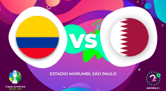 Colombia vs Catar - Copa América 2019