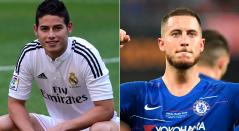 Eden Hazard - James Rodríguez