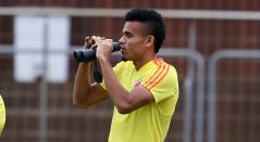 Selección Colombia entrenamiento ante Catar