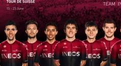 Team Ineos - vuelta a Suiza