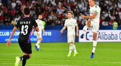 Marcos Llorente, futbolista español, en acción con Real Madrid
