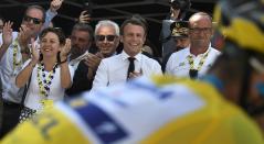 Emmanuel Macron, Tour de Francia 2019