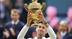 Novak Djokovic derrotó a Roger Federer en Wimbledon