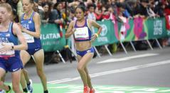 Angie Orjuela, atleta colombiana
