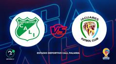 Deportivo Cali vs Jaguares - Liga Águila