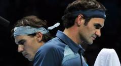 Rafael Nadal y Roger Federer