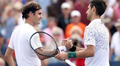 Roger Federer y Novak Djokovic