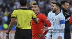 Gary Medel y el incidente con Lionel Messi