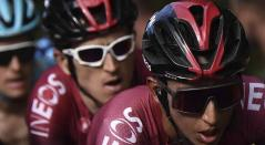 Thomas y Egan Bernal