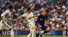 James titular - Real Madrid Vs. Valladolid