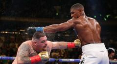 Anthony Joshua y Andy Ruiz Jr