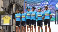 Selección Colombia en el Tour de L'Avenir