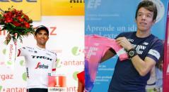 Alberto Contador y Rigoberto Urán
