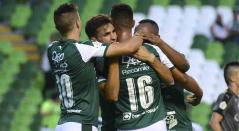 Deportivo Cali, equipo celebrando un gol