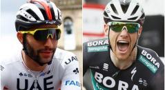 Fernando Gaviria y Sam Bennett, duelo de velocistas en la Vuelta a España