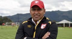 Hárold Rivera, director técnico de Santa Fe