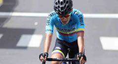 Jhojan García, ciclista colombiano