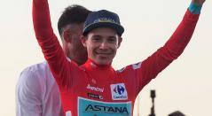 'Supermán' López, líder tras primera etapa de la Vuelta a España
