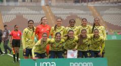 Selección Colombia femenina en los Panamericanos.