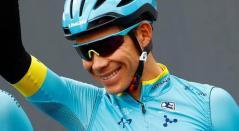 'Supermán' López, ciclista colombiano del Astana