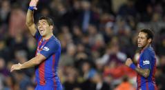 Luis Suárez y Neymar compartiendo en el FC Barcelona