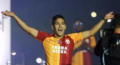 Falcao, presentación Galatasaray