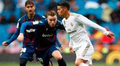James Rodríguez, Levante, Real Madrid