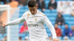 James Rodríguez, volante del Real Madrid