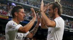 James Rodríguez y Gareth Bale
