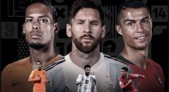 Messi, Ronaldo y Van Dijk son los finalistas del premio FIFA 'The Best'