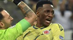 Yerry Mina, central de la Selección Colombia