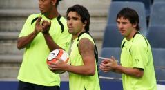 Messi, Deco y Ronaldinho
