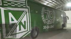 Bus de Atlético Nacional