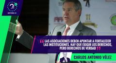 Carlos González Puche, el presidente de Acolfutpro