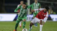 Andrés Pérez y Jarlan Barrera - Santa Fe vs Nacional 2019