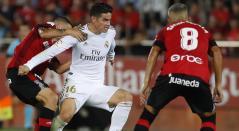 James Rodríguez jugando con el Real Madrid 2019