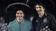Federer y Zverev en México