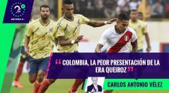 Palabras Mayores - Colombia vs Perú