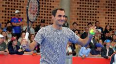 Roger Federer, evento en Bogotá