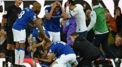 Son, jugador del Tottenham tras el golpe a André Gomes