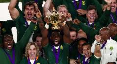 Sudáfrica, campeón mundial al derrotar con justicia a Inglaterra
