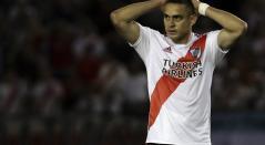 Rafael Santos Borré, delantero colombiano de River Plate