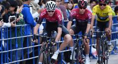 Egan Bernal y Chris Froome - INEOS