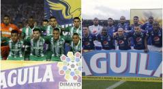 Atlético Nacional y Millonarios