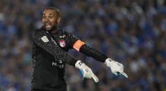 Robinson Zapata jugando para Independiente Santa Fe