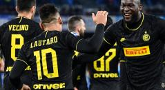 Inter de Milán - Lukaku y Lautaro Martínez