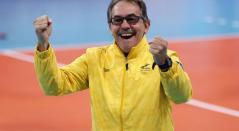 Antonio Rizola, técnico de la Selección Colombia de voleibol