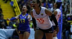 Colombia vs Argentina, Preolímpico de voleibol