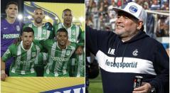 Atlético Nacional y Diego Maradona