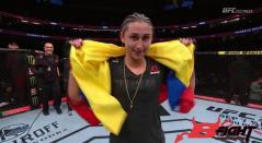 Colombiana Sabina Mazo en UFC